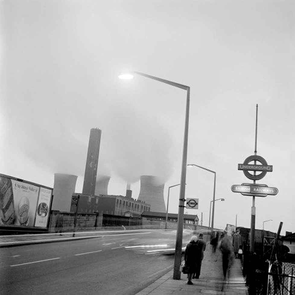 Harlesden Station with McVitie's and Heinz in the distance