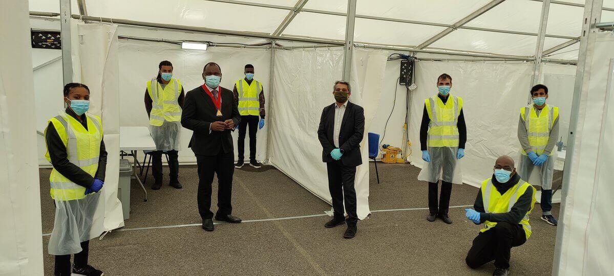 covid19 testing centre in Harlesden